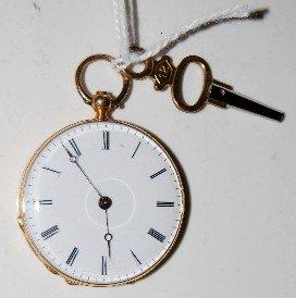 Vacheron & Constantine 18K Gold Pocket Watch