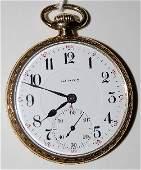 168 Illinois Springfield 17J 16S 14K Pocket Watch
