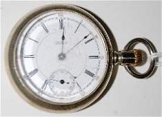 192 Hamilton Private Label 17J 18S Pocket Watch