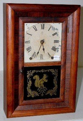 22: Half Size Spring Wound R A Clock