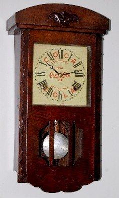 2: Advertising Coca Cola Small Regulator Clock