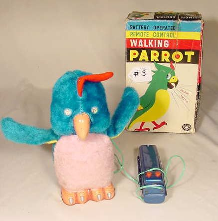 503: Walking Parrot Battery Operated NR