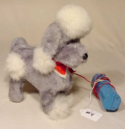 504: Battery Operated Walking Poodle NR
