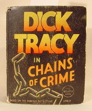 508A: Dick Tracy Whitman Big Little Book 1936 NR