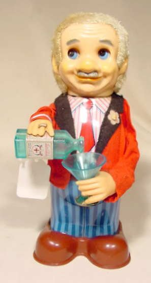 510: Battery Operated Blushing Willy 1960's NR