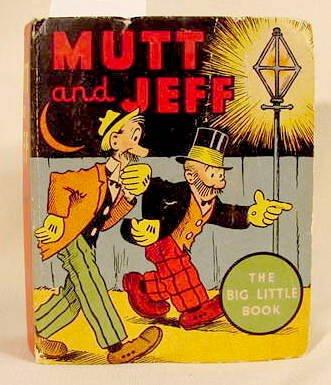 510A: Mutt & Jeff Whitman Big Little Book #1113 1936 NR