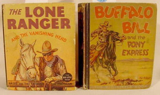 511A: 2 Whitman Western Big Little Books: Long Ranger
