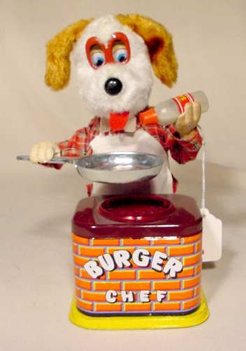 512: 1950's Battery Operated Burger Chef NR