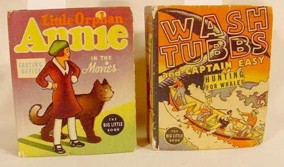 512A: 2 Whitman Big Little Books Orphan Annie NR