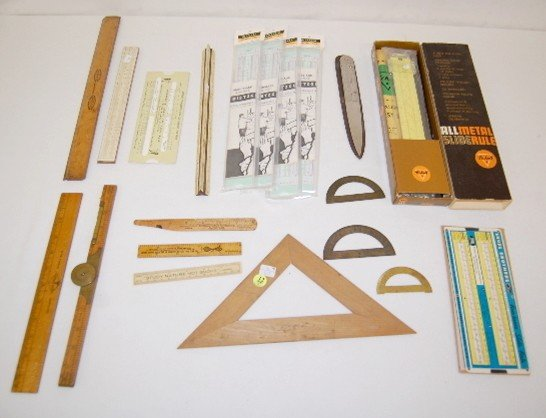 12: 18 Slide Rule & Other Measuring Devices