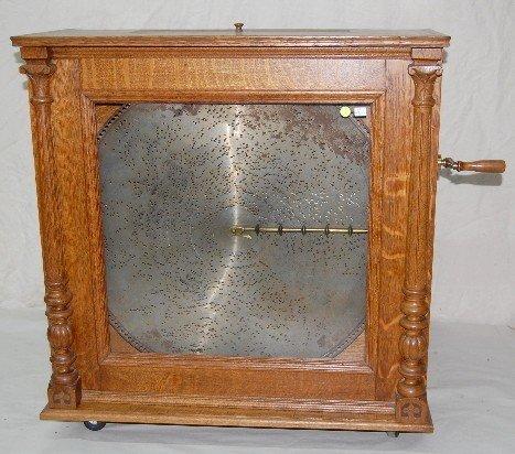 175M: Regina No. 21157 Floor Model Music Box