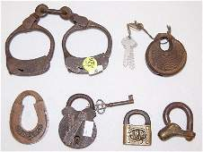 326: Padlocks and Handcuffs, Brass and Steel
