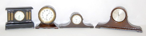 4A: Sessions, New Haven and Westclox Mantel Clocks