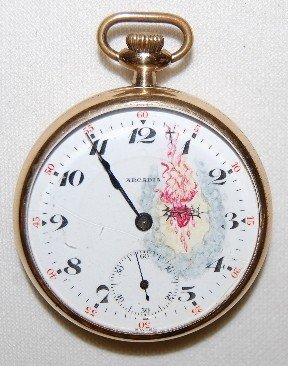 11: Fleurier 15J 16S 3FBRG GF OF Pocket Watch