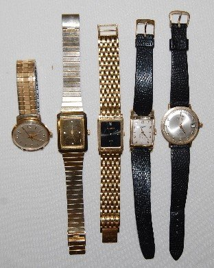 48: 5 Mens Wrist Watches: Longines, Wittnauer & More