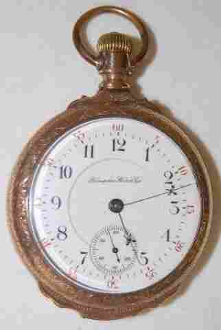 Hampden Special Railway 23J, 18S, Pocket Watch