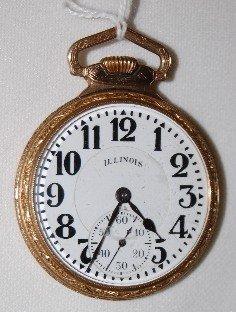 174: Illinois 60 Hour Bunn Special, 16S Pocket Watch
