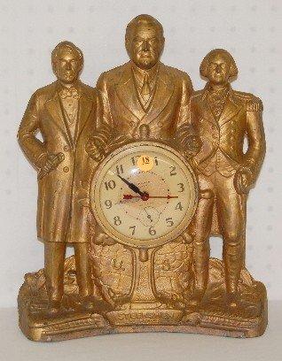 18: Steersman Electric Table Clock