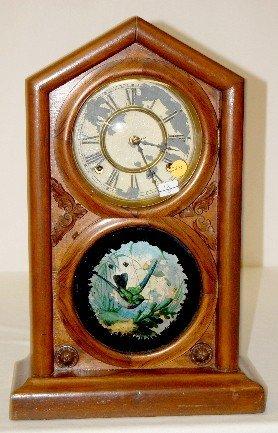 "28A: Waterbury Rosewood ""Norman Extra"" Mantel Clock"