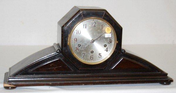 31: Junghans 4 Bar Chiming Mantel Clock