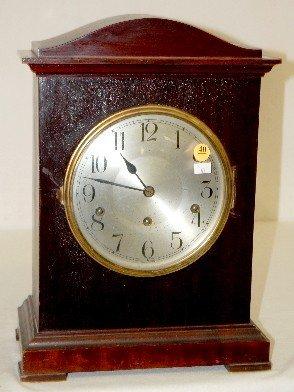 40: German, Kienzle 5 Bar Chiming Mantel Clock