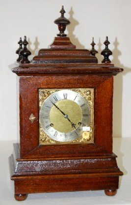 New Haven 5 Bar Chiming Mantel Clock