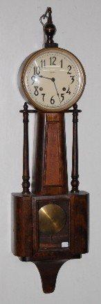 67: Ingraham Nile Banjo Clock