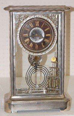 75: Ansonia Crystal Regulator Clock