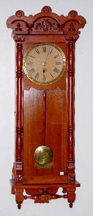 """77: New Haven """"Elfrida"""" Wall Clock"""