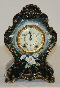 """79: Waterbury """"Parlor # 73"""" China Clock"""