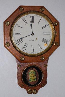 "81: Seth Thomas ""Office # 2"" Wall Clock, 1909"