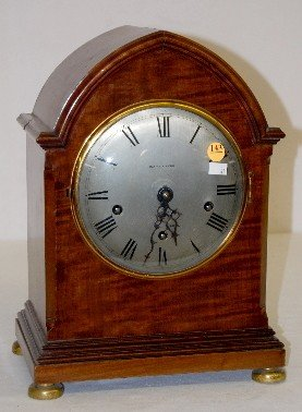 Mappin & Webb 4 Bar Chiming Mantel Clock