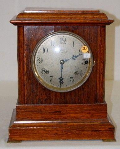 S. T. Sonora Chime Adamantine Mantel Clock