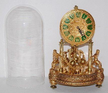 234A: Kern Germany Figural Anniversary Clock