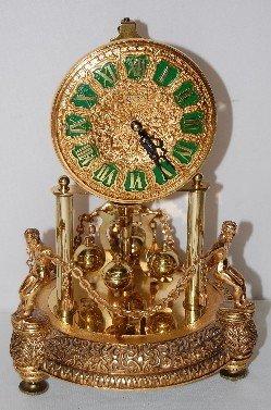 234A: Kern Germany Figural Anniversary Clock - 2