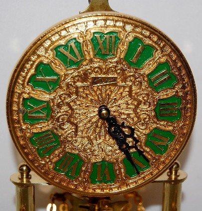 234A: Kern Germany Figural Anniversary Clock - 3