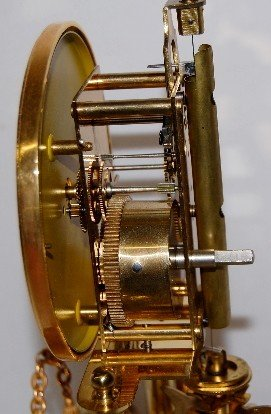 234A: Kern Germany Figural Anniversary Clock - 6