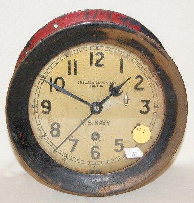 41: Chelsea Clock Co. U.S. Navy Ship's Bell Clock