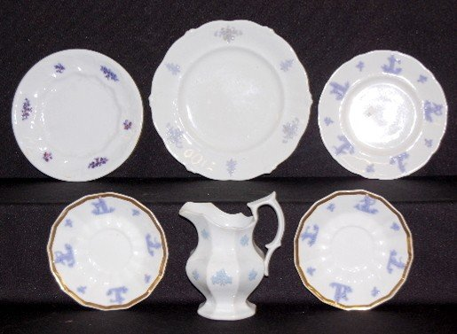 12: 10 Pieces Chelsea China Dinnerware
