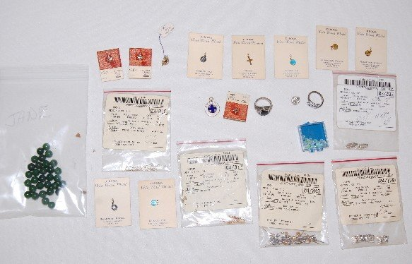 102A: Jewelry: Gold, Silver, Opals, Jade Beads & Other