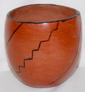 Santa Domingo Pottery Vessel