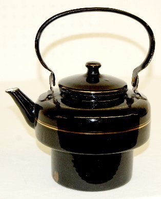 34: Granite Ware Teapot, Black