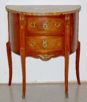 French Style Marble Top Stand
