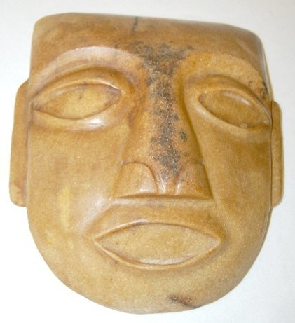 106: Carved Stone Mask with Elongated Ears