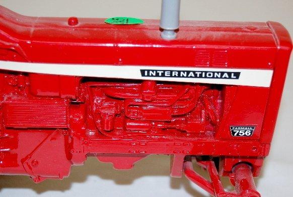 245: International Farmall 756 Toy Tractor - 2