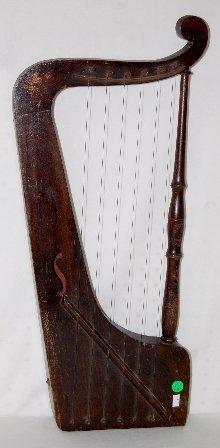 6 String Hand Held Harp Like Instrument