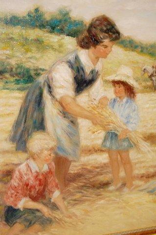175: Pierre-Eugene Duteurtre Painting on Canvas - 3