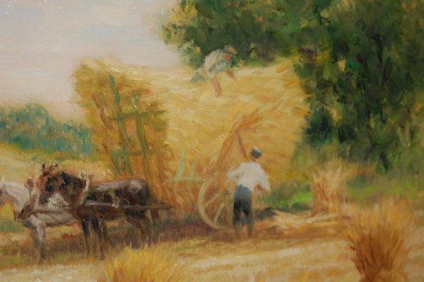 175: Pierre-Eugene Duteurtre Painting on Canvas - 4