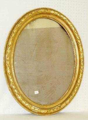 111A: Victorian Gilt Gesso Mirror, Circa 1860-1890