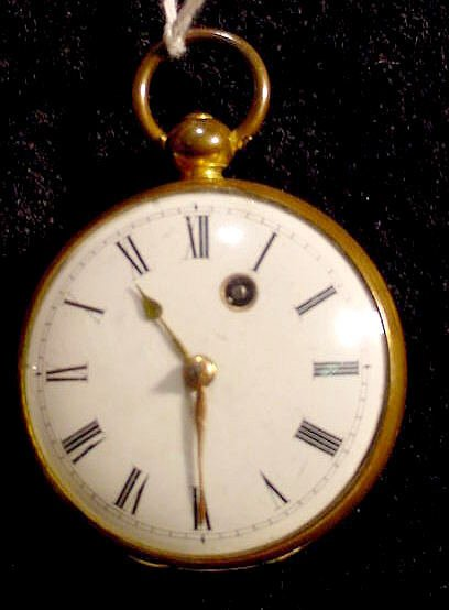 520: Unknown Maker KW KS Fusee OF Gilt Case NR